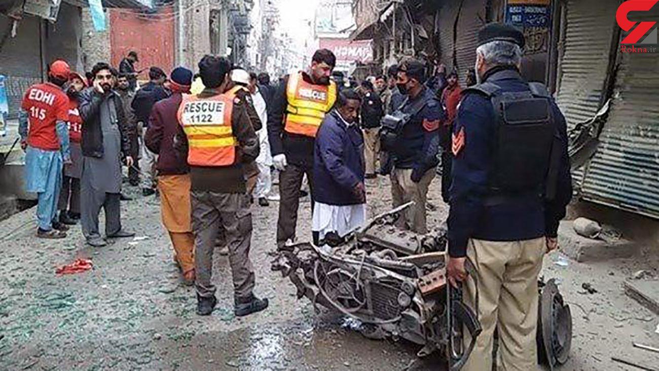 ۱۰ زخمی در انفجار تروریستی در پاکستان