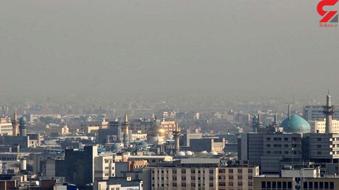 مشهد از نفس افتاد / آلودگی شدید هوا