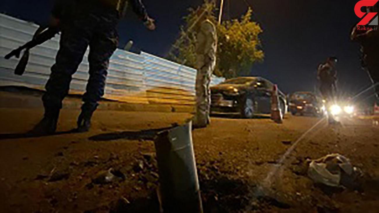 انفجار در منطقه سبز بغداد؛ اصابت ۲ فروند راکت به نزدیکی سفارت آمریکا