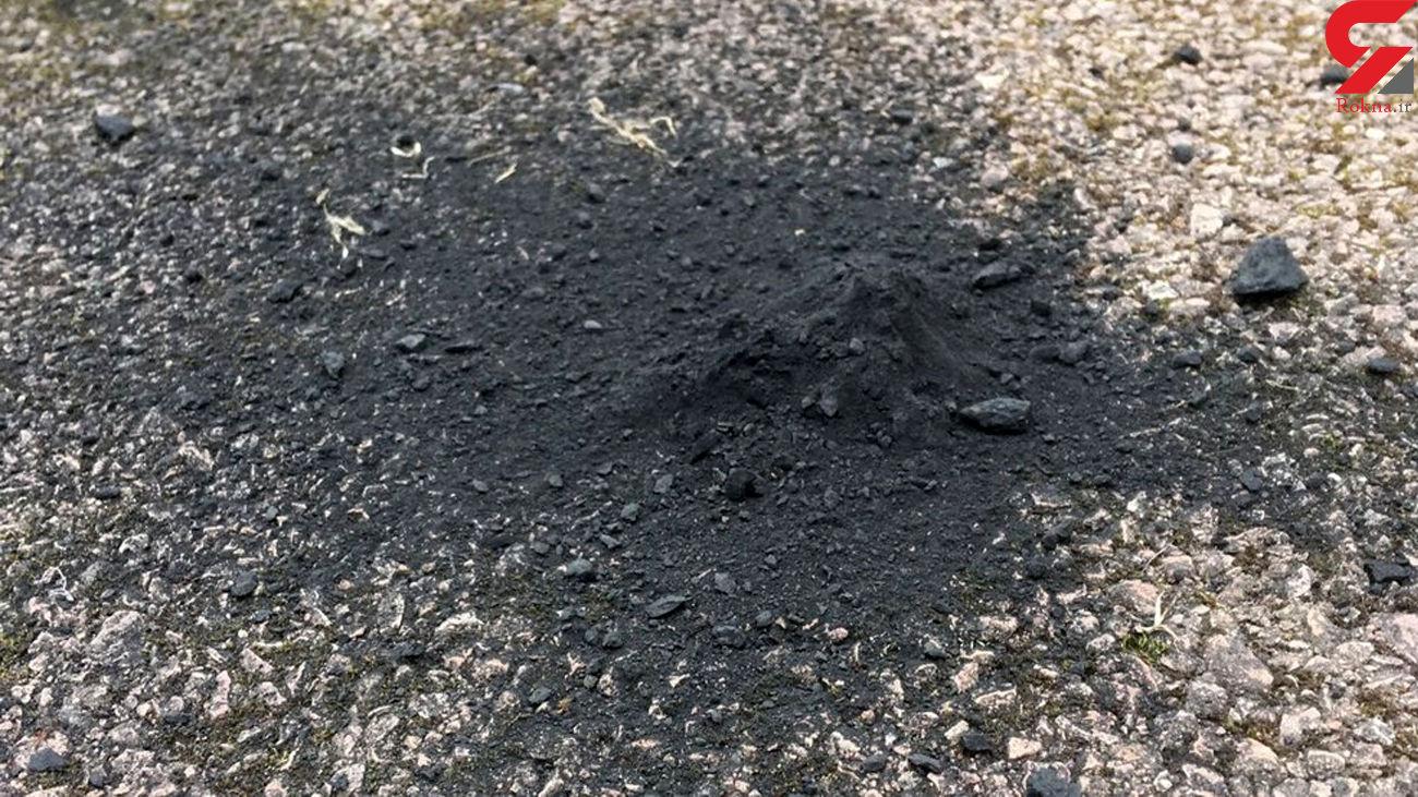 شهاب سنگ ۳۰۰ گرمی در مسیر ورودی یک خانه پیدا شد