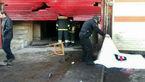 سیلندر گاز در آغوش مرد تهرانی منفجر شد+عکس