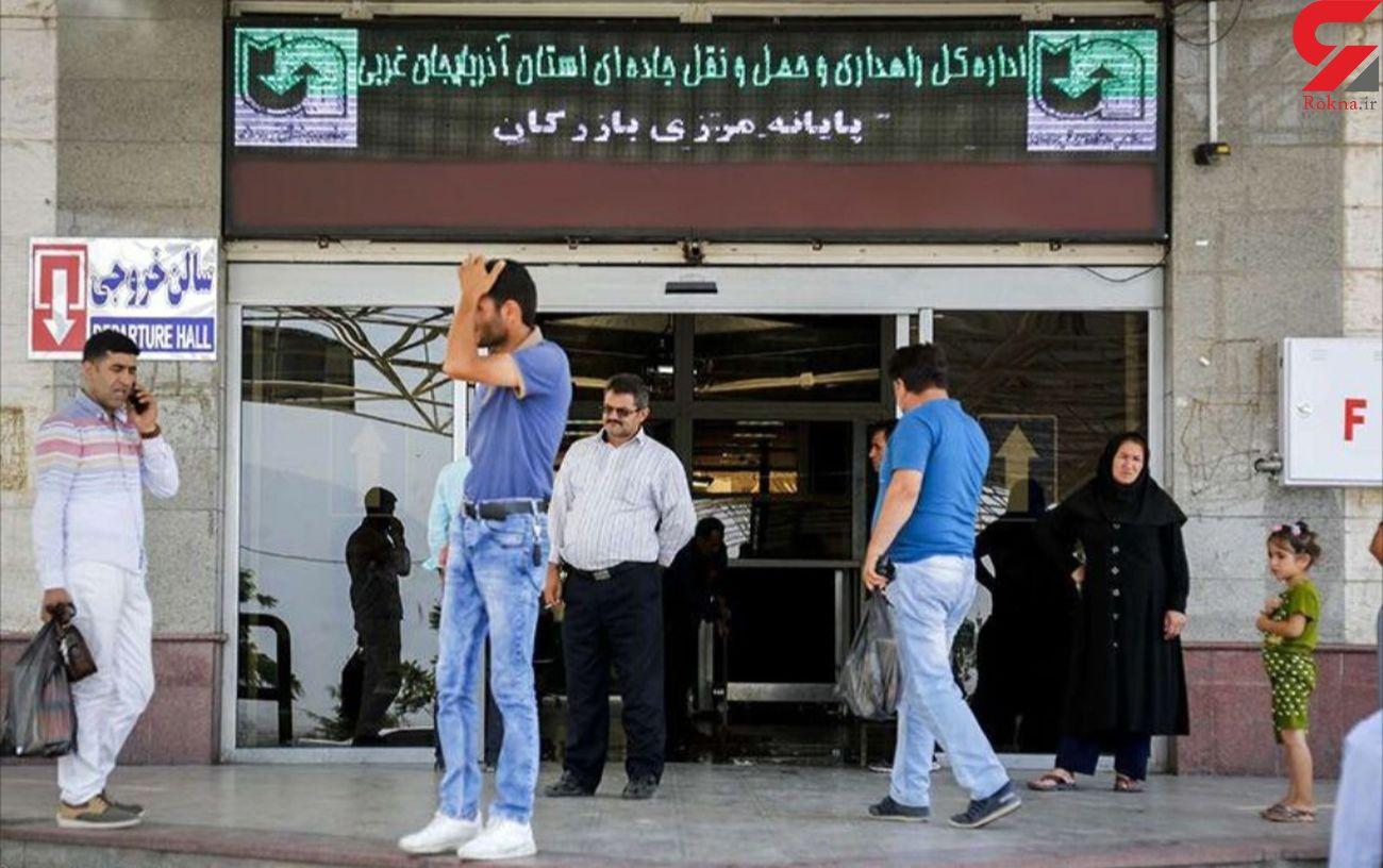 رشد بالغ بر ۱۸۷ درصدی تردد مسافر از پایانه های مرزی آذربایجان غربی