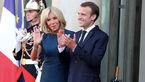 جشن و شادمانی بازیکنان تیم ملی فرانسه با همسر رییس جمهور در پاریس+ فیلم و عکس