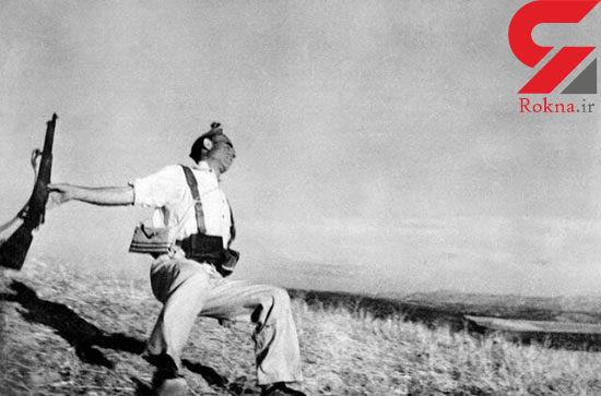 تصویر جنجالی عکاس مشهور که برای ثبت آن یک سرباز را کشتند!+ عکس