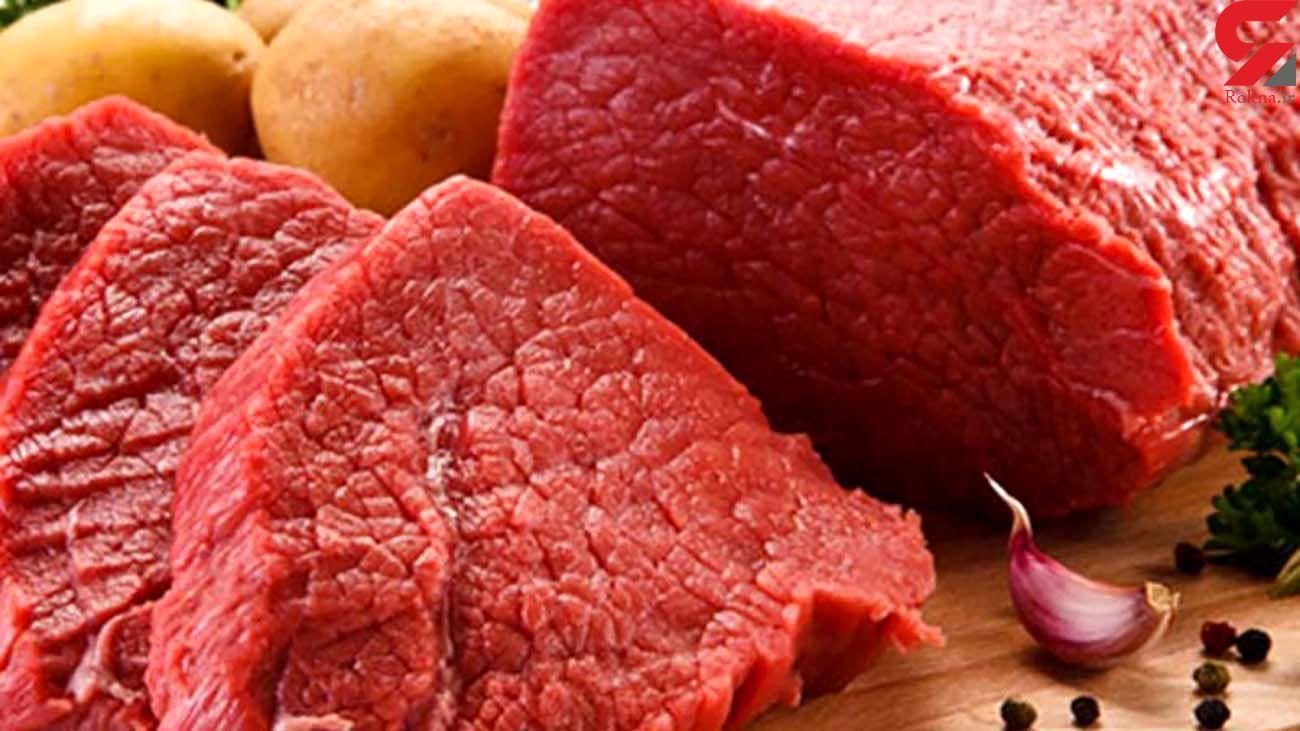 قیمت گوشت قرمز امروز چهارشنبه 6 اسفند ماه