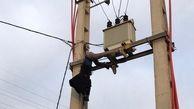 کشف جنازه یک مرد بالای تیرچراغ برق / در پرند رخ داد