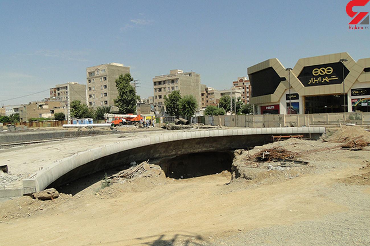 پیشرفت 63 درصدی عملیات اجرایی فاز نخست بزرگراه شهید بروجردی