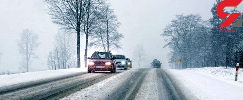 تکنیک های رانندگی در برف/اگر قصد سفر دارید بخوانید