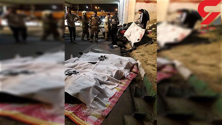 انتشار عکس های اجساد و صحنه خونین زیر پل یادگار امام تهران + جزییات شوک آور