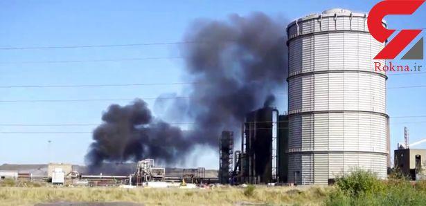 انفجار در کارخانه متروکه انگلیس دو مجروح بر جای گذاشت