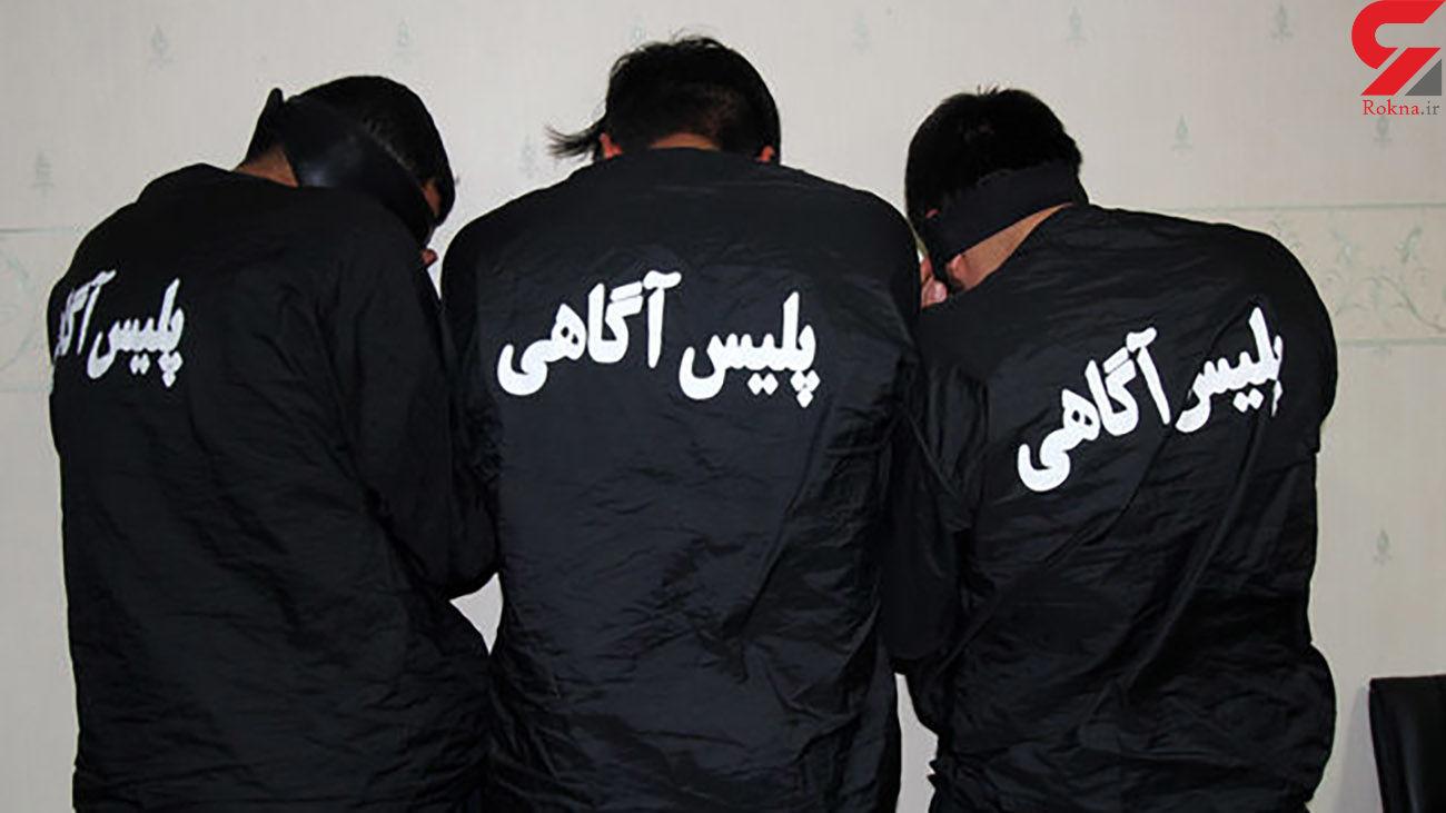 انهدام باند سرقت خودرو در کرمان