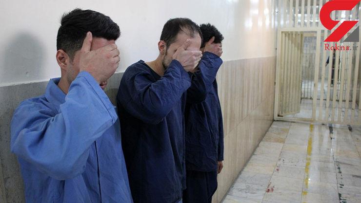 دستنبد پلیس به دستان کیف قاپان حرفه ای فشم
