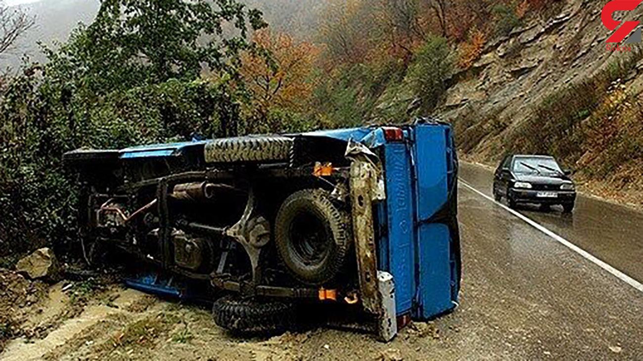 حوادث رانندگی در جاده زنجان جان 3 نفر را گرفت