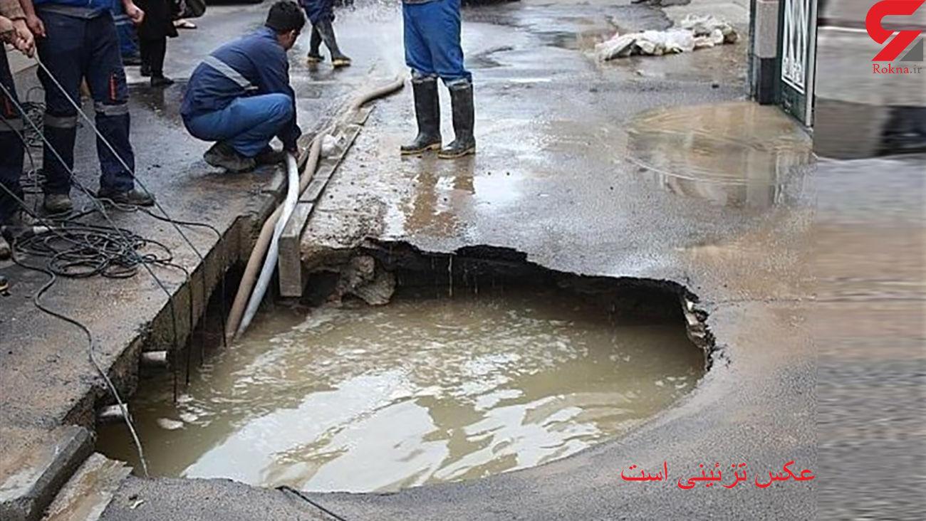 جزئیات فرونشست زمین در میدان ولیعصر + فیلم