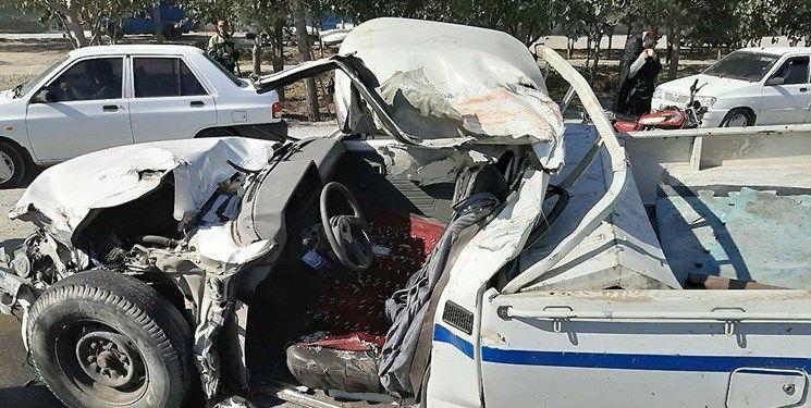تصادف در بزرگراه آسیایی مشهد یک کشته و یک مجروح بر جا گذاشت