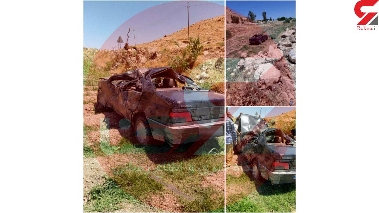 تصادف حمید بقایی به علت یک نقص فنی مشکوک بود + عکس خودروی له شده