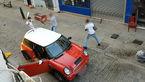 نزاع خیابانی که شما را حیرت زده میکند + فیلم
