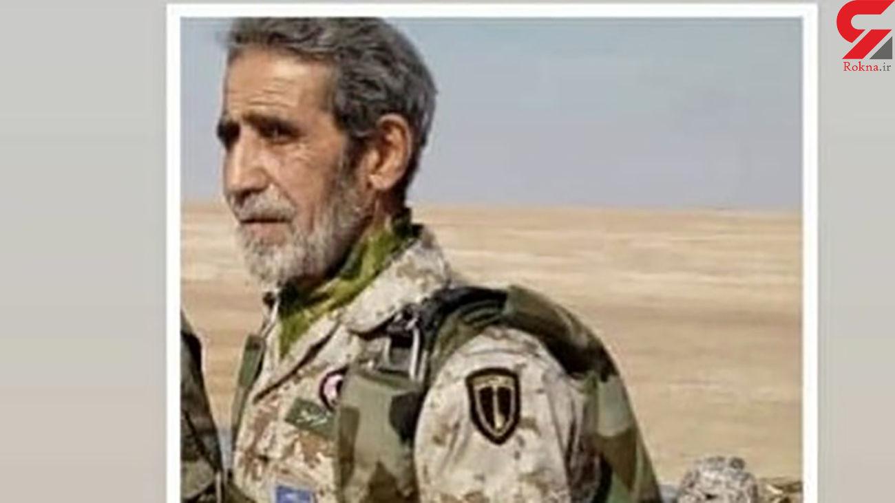 سقوط استاد چتربازی سپاه / علی فرامرزی شهید شد + عکس
