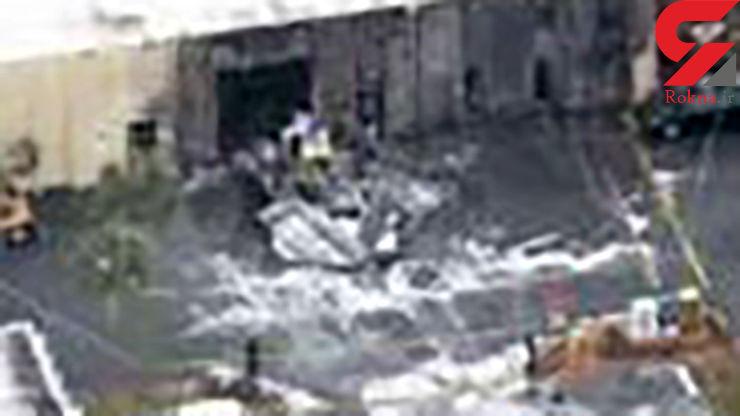 سقوط هواپیما روی مرکز نگهداری بیماران اوتیسمی+ عکس