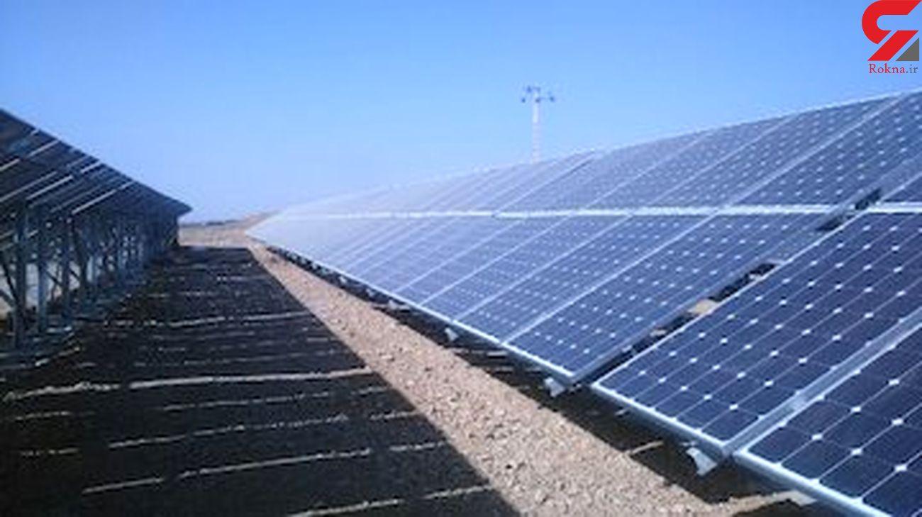 اجرای فاز دوم نیروگاه برق خورشیدی استان مرکزی