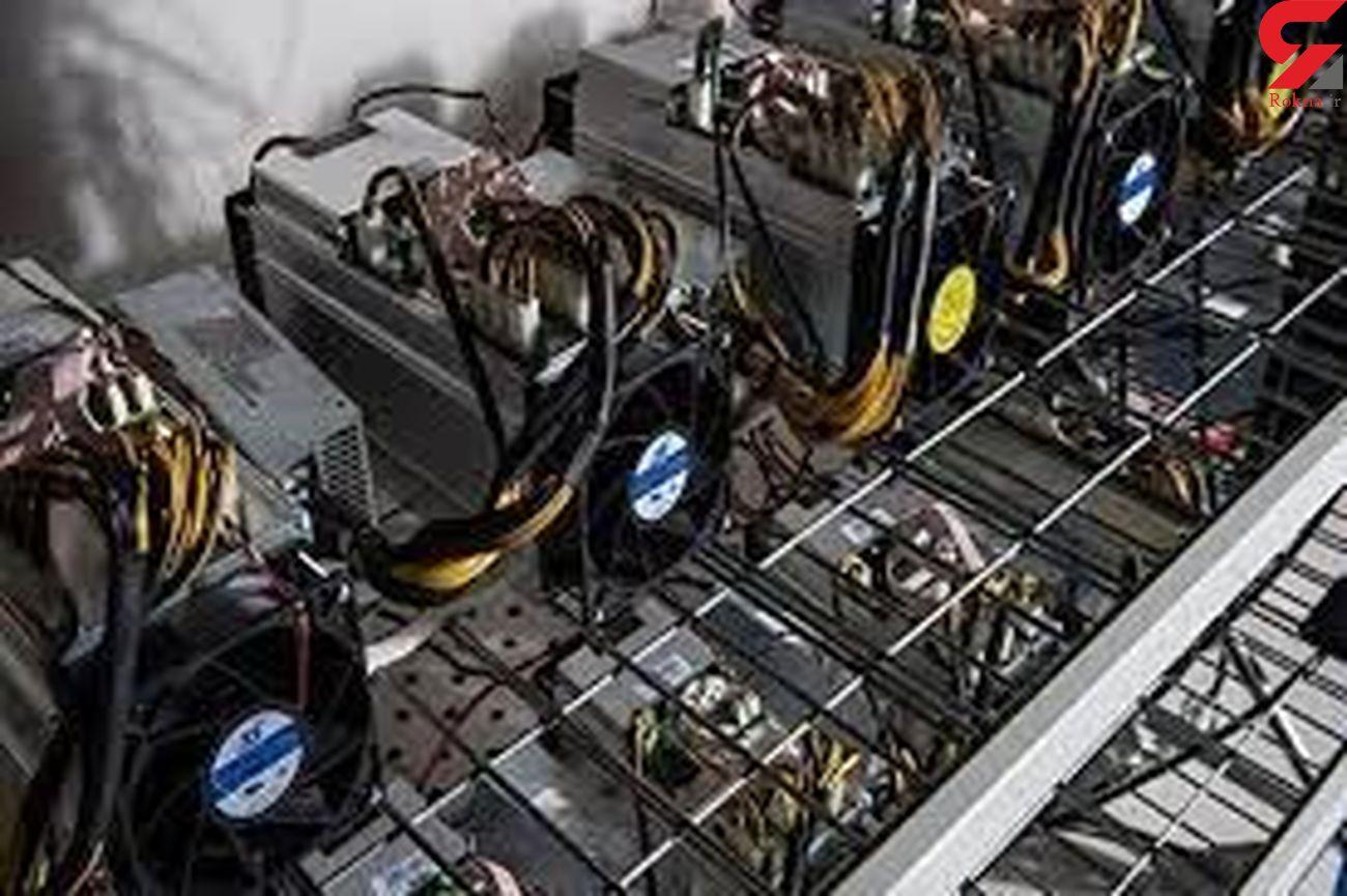 کشف ۶ دستگاه ماینر قاچاق در بروجرد