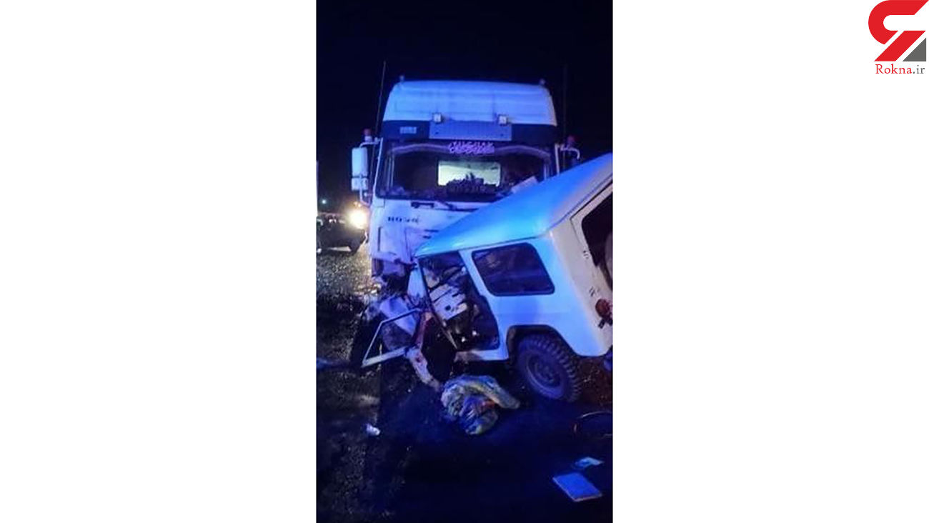 تصادف مرگبار در جاده مهاباد ـ ارومیه + عکس