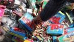 کشف 21 هزار عدد مواد محترقه غیرمجاز در کنگاور