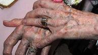این پیرزن تهرانی فضای سیاسی توییتر را بهم ریخت / اشک هایی که شمرده نشد + فیلم و عکس