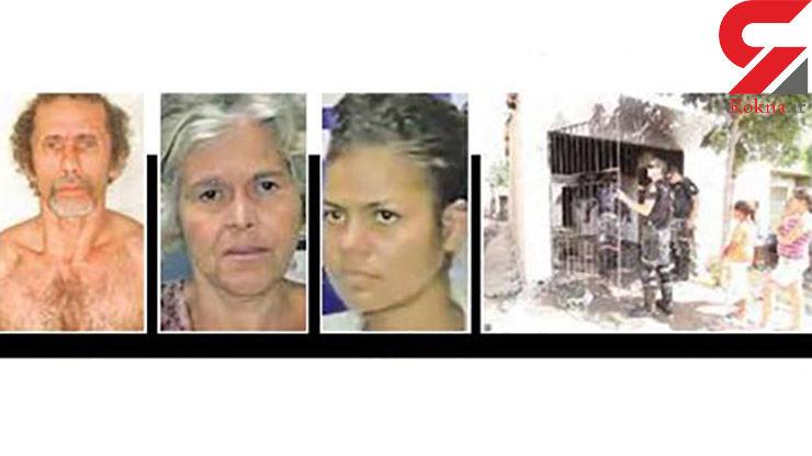 آدم خوار های معروف این 2 زن و یک مرد بی رحم هستند+ عکس