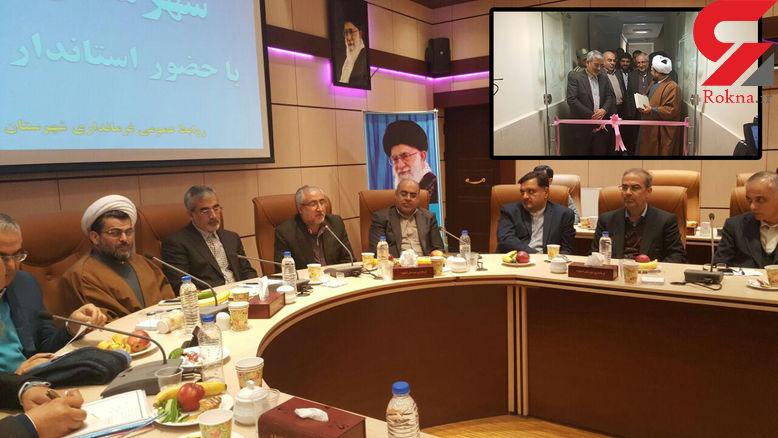 دو برابر شدن فضای اداری دادگستری استان البرز تا پایان سال 96 + عکس