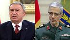 گفتوگوی تلفنی وزیر دفاع ترکیه با سرلشکر باقری درباره کرونا