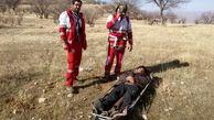عملیات هلیکوپتر امداد در ارتفاعات ایلام به خاطر نجات یک جوان + عکس