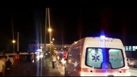 فیلم واژگونی خودروی پیکاپ در کرمانشاه/ سرعت زیاد علت وقوع این حادثه