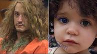 پدر سنگدل صورت دختر 2 ساله اش را با ضربات چکش له کرد+ عکس