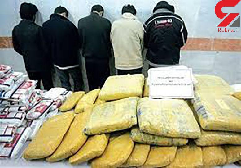 آمار کشف مواد مخدر و دستگیری قاچاقچیان در سال جاری