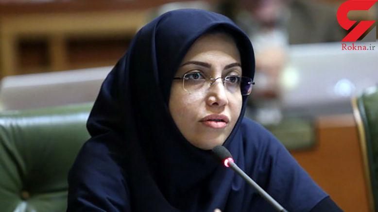 الهام فخاری هم کرونایی شد / رئیس شورای استان تهران بستری است + عکس