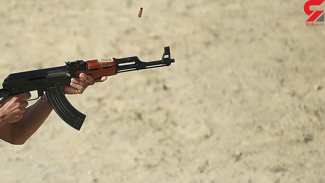 16 مرد تیرانداز زن آبادانی را تهدید به مرگ کردند + فیلم لحظه تیراندازی