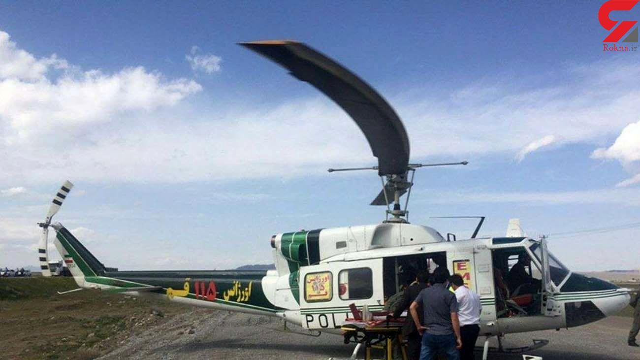 اورژانس هوایی قم در آسمان ساوه به پرواز درآمد
