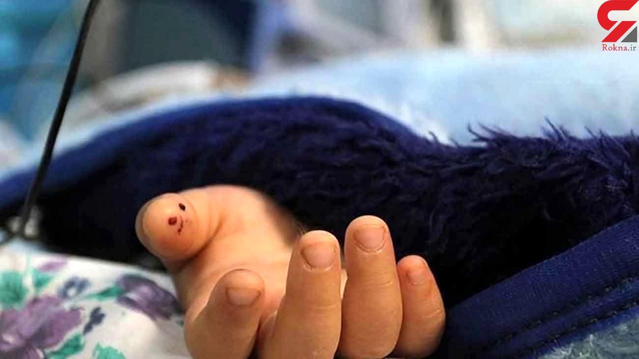 دختر کوچولوی 6 ساله ساوه ای ناگهان خشک شد