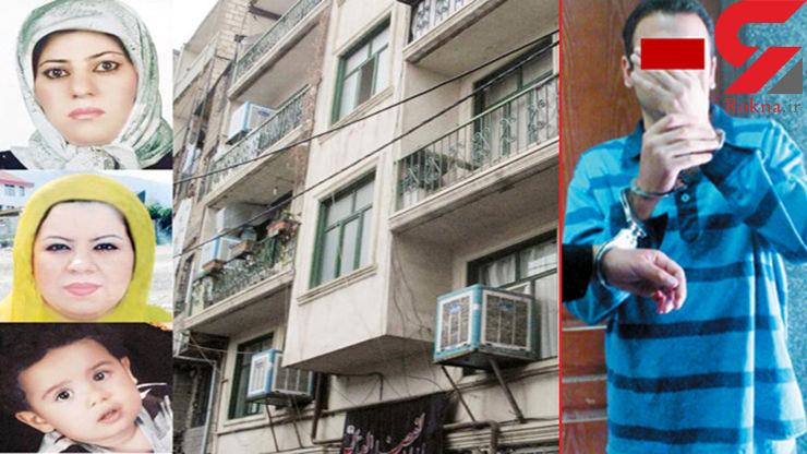 قاتل یک پسر بچه و 2 زن در خیابان گلابدره صبح امروز اعدام شد+ عکس