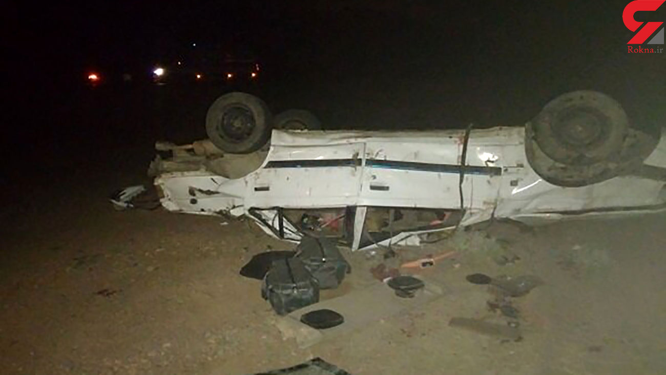 تصادف مرگبار پژو پارس در زنجان / ساعاتی پیش رخ داد +عکس