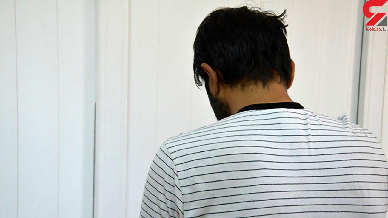 دوربین مداربسته راز سرقت این مرد افیونی را فاش کرد