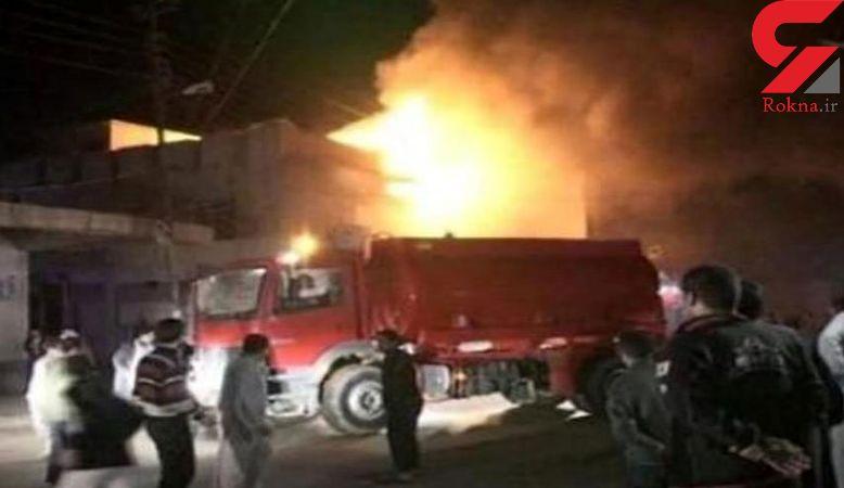 آتشسوزی هتلی در بغداد ۵ کشته بجا گذاشت