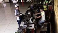 دستگیری دزد باکلاس توسط مامور محافظ خونسرد + فیلم