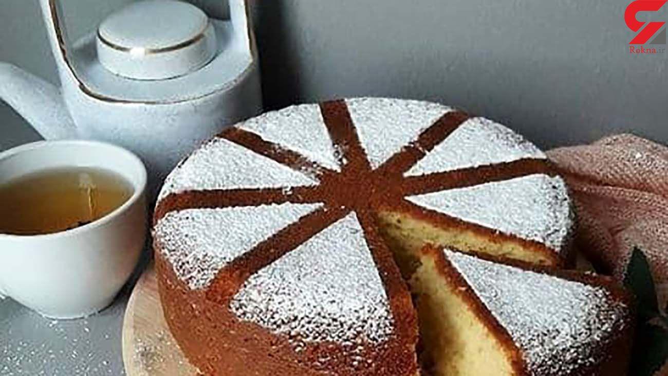کیک نارگیلی عصرانه مناسب برای شما