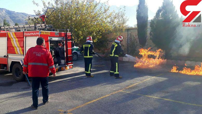 جزییات اقدامات آتش نشانی خرم آباد در 6 روز!
