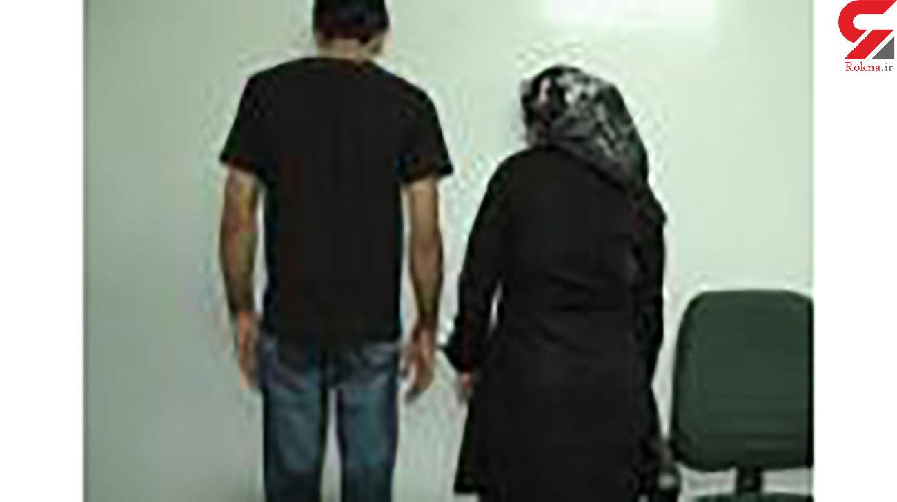 زن فاسد فراری در مرودشت کیست ؟ / او باید در زندان باشد
