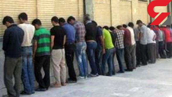 دستگیری 44 خرده فروش مواد مخدر در پاتک پلیس شیراز