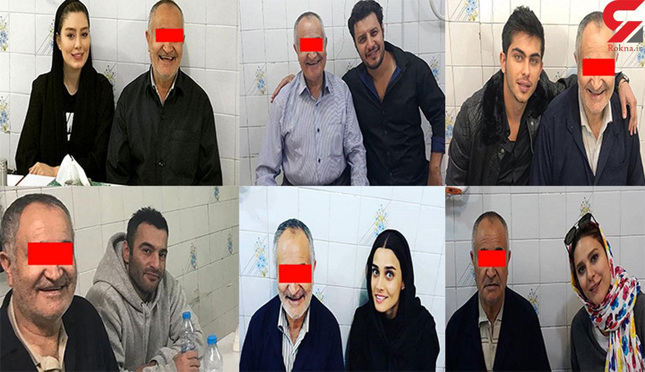 عمو یحیی مرد محبوب سلبریتی ها ایران به اعدام محکوم شد + عکس