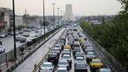 ترافیک یکشنبه در پایتخت سنگین است